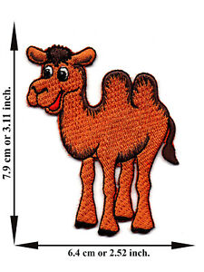 Camel-Alpaca-Cute-Animal-V-2-Iron-On-Patch-Sew-Applique-Embroidered-Crafts-DIY