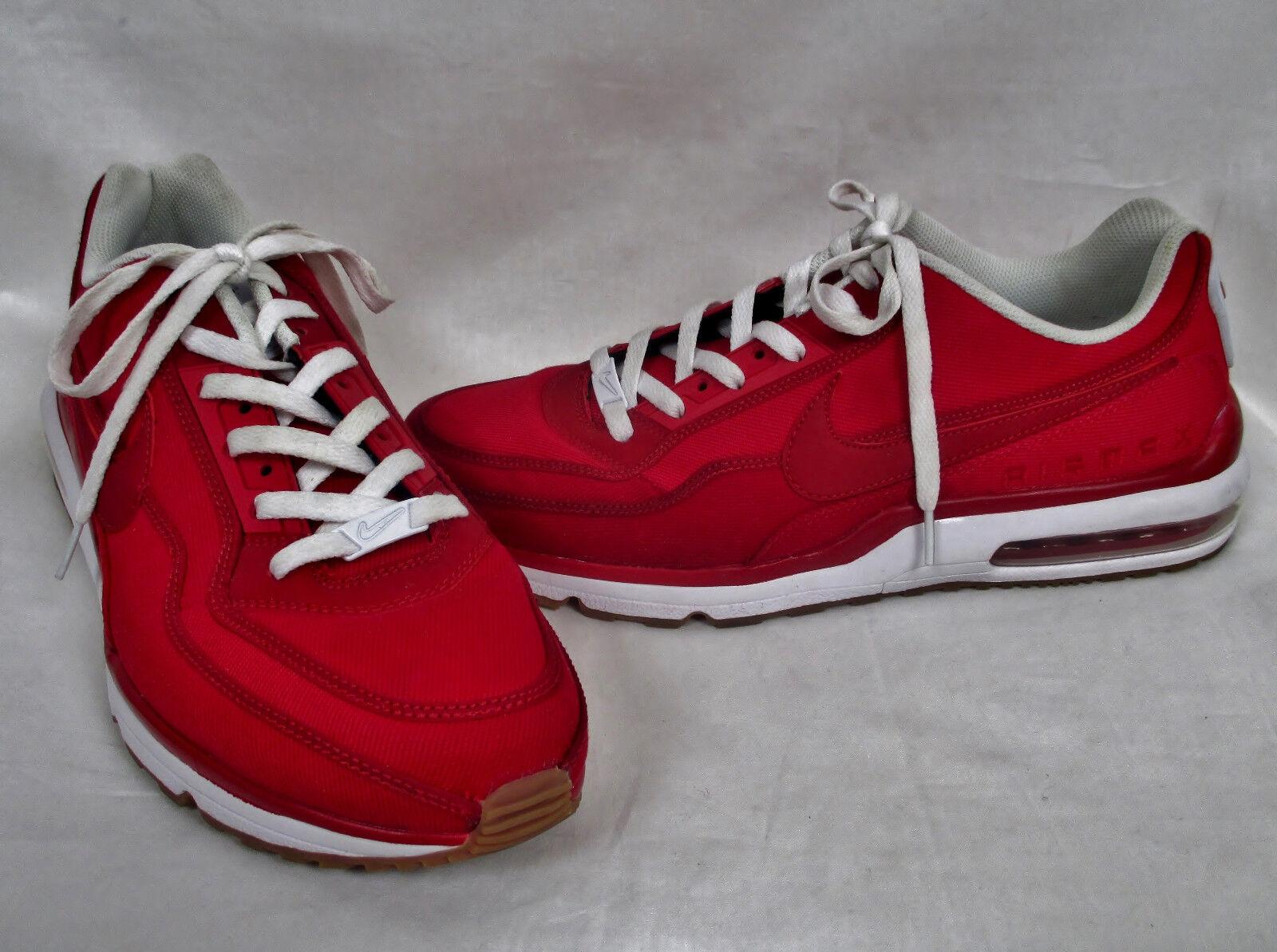 Nike airmax 2015 Uomo rosso - bianco 746379-612 di scarpe da ginnastica ginnastica scarpe da ginnastica sz 13