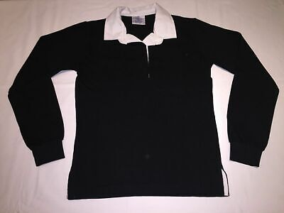 White//Duck Egg .XL//16  R64 New Ladies Front Row striped rugby shirt