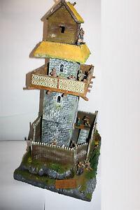 Normannen-Burg-Motte-034-Waleran-034-1676-mit-Zubehoer-zu-7cm-Sammelfigur-Fertigm