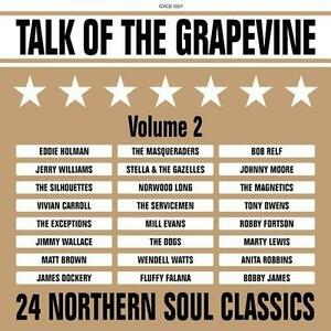 TALK-OF-THE-GRAPEVINE-VOLUME-2-Various-NEW-amp-SEALED-NORTHERN-SOUL-CD-GRAPEVINE