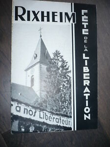 Rixheim Fete the Liberation 1945