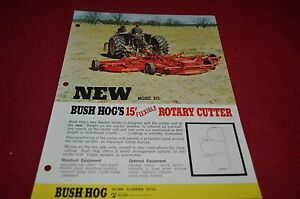 Bush Hog 315 Rotary Cutter Dealer S Brochure Yabe10 Ebay