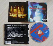 CD (NO BOX SANS BOITIER) ALBUM SPHINCTOUR 1996 MINISTRY 11 TITRES 2002