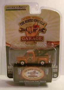 1956 /'56 FORD F-100 TOW TRUCK WRECKER THE BUSTED KNUCKLE GARAGE GREENLIGHT 2019
