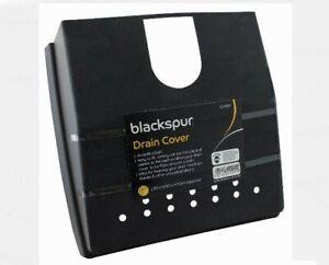 Vidange Housse Rangement Avec Raccords Plastique Noir Outdor Feuille Protection Texture Nette