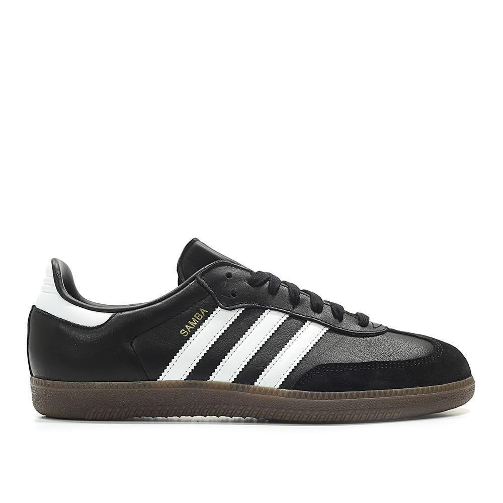 Mens Adidas Samba OG Core Black Cloud White Gum Brown BZ0058