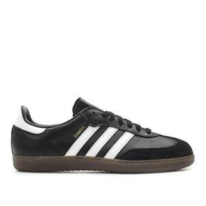Mens-Adidas-Samba-OG-Core-Black-Cloud-White-Gum-Brown-BZ0058
