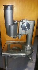 Leitz wetzlar microscope vintage antique mirror with travel box