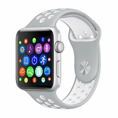 Smart Watch IWO 1:1 For Android IOS 42mm Smartwatch IWO HRT MTK2502C Apple ★