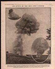 WWI Artillerie Dépot de Munition /Struma river Bulgaria Greece 1916 ILLUSTRATION