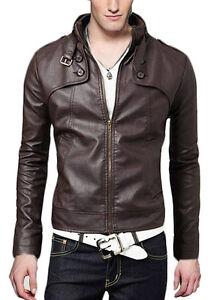 Veste Giacca Men In N12f Jacket Uomo Pelle Cuir Leather Giubbotto Blouson Homme 06xR0q4w