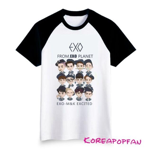 Exo exo planet#1 tee T-shirt Kpop New