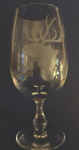 Vintage-Etched-Glass-Stags-Head-Design