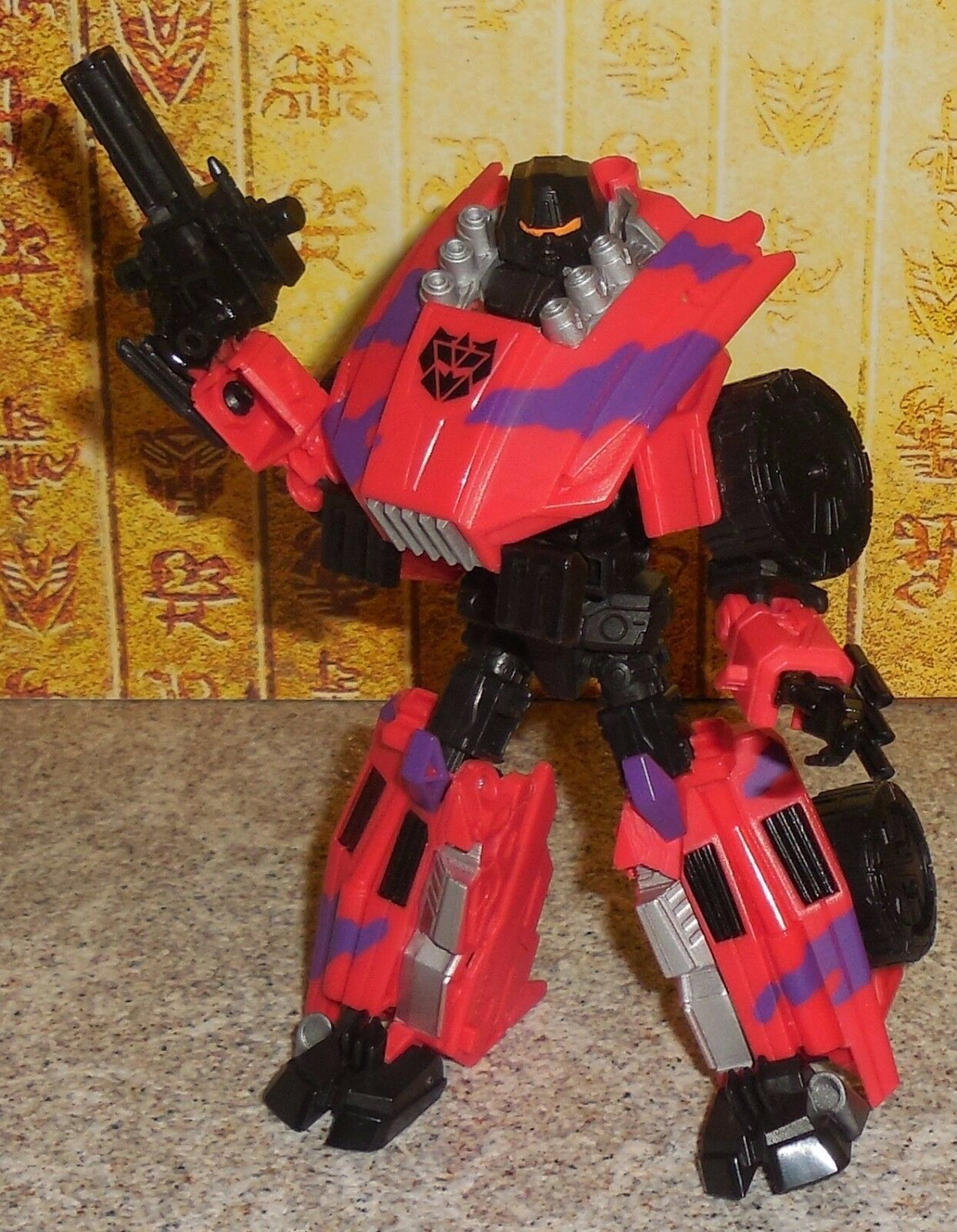 Transformers Generation 2 SWINDLE Complete figure for Decepticon Bruticus