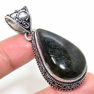 "Labradorite Handmade Ethnic Style Jewelry Pendant 1.97"" SR-264"