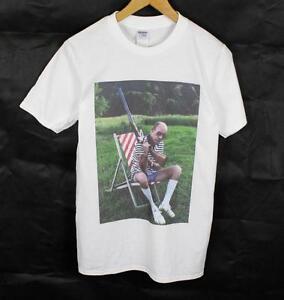 15d631ad681 Hunter S. Thompson White T-Shirt Size S-XXXL gun Gonzo Fear loathing ...
