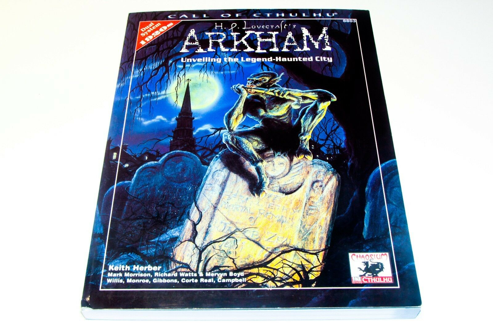 CALL OF CTHULHU - ARKHAM - UNVELLING THE LEGEND HAUNTED CITY - CHAOSIUM