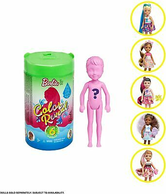 Barbie CHELSEA Color Reveal Doll Surprise Mystery Green Tube NEW 2020