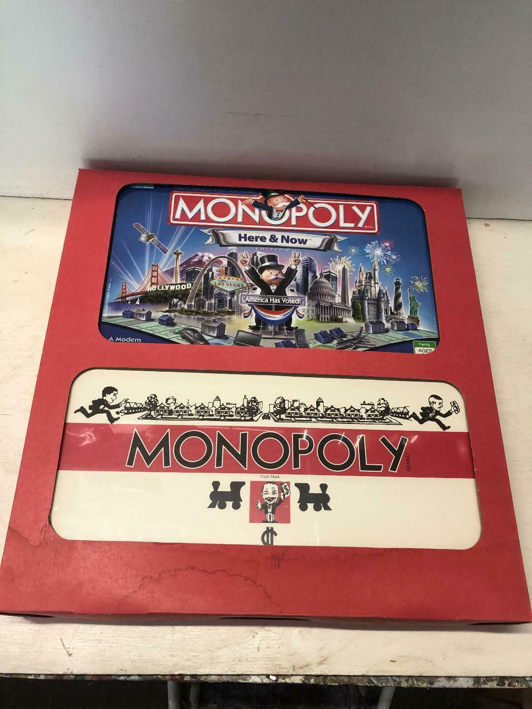 Monopoly Classic Edition 1935 Reproduction and  Here and Now  Edition  NIB