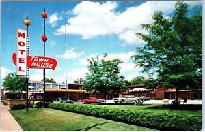 Belleville Il Illinois Town House Motel C1960s Cars