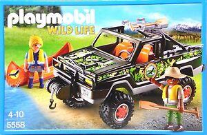 Abenteuer-Pickup Dschungel Playmobil 5558