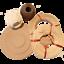 Flechtset-Korbflechtset-Peddigrohr-Rattan-Sets-Korbflechtboden-Papiergarn-uvm miniature 7