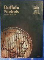 Whitman Buffalo Nickels 1913 - 1938 Coin Folder, Album Book 9008