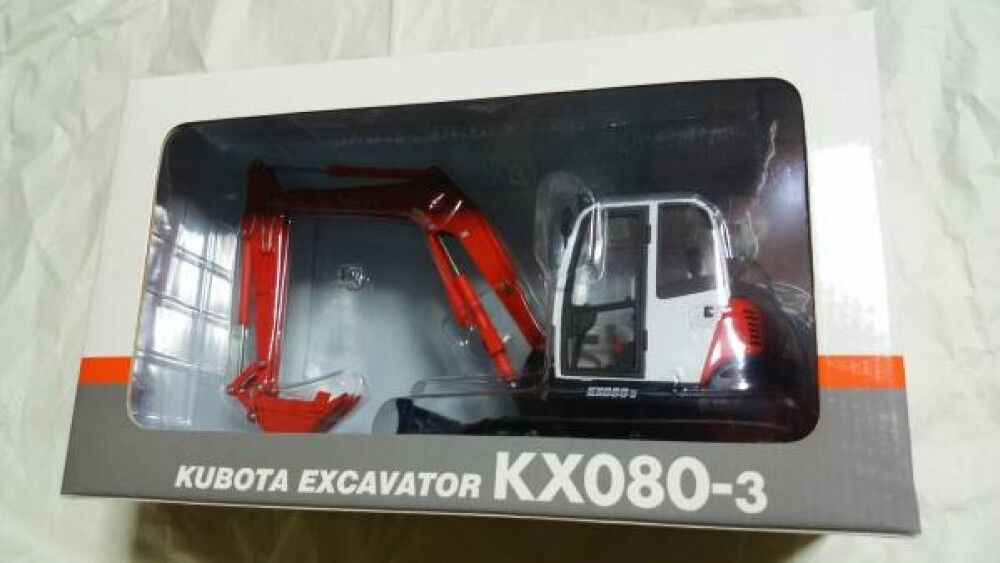 Nouveau miniature Kubota 1 20 Mini Pelle  KX080-3 pelle pelle voiture MINIvoiture F S  vente