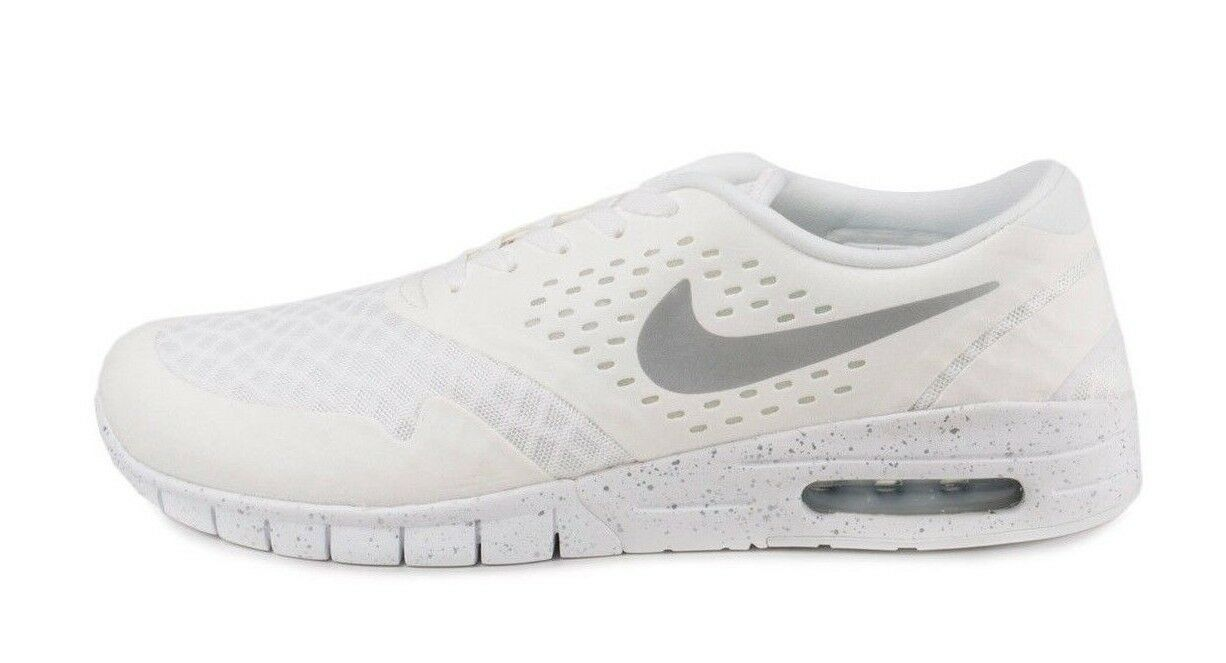 The most popular shoes for men and women Nike ERIC KOSTON 2 MAX White Metallic Silver Black Discounted Price reduction Men's Shoes