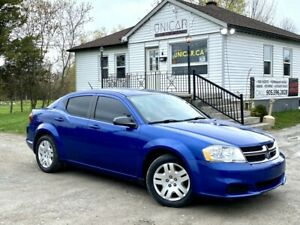 2013 Dodge Avenger 1-Owner No-Accidents LOW KMS A/C Power Group Gas Saver
