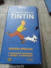 Vente Hergé-Tintin-Ancien coffret vhs-1997