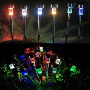 Image Is Loading Solar Garden Lights Color Changing White Led