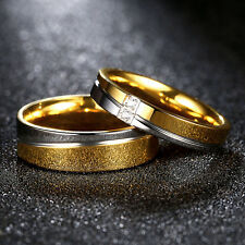 2 Partnerringe Trauringe Hochzeit Verlobungsringe Eheringe Edelstahl Multicolour