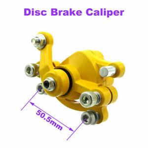 Yellow-Disc-Brake-Caliper-For-Motovox-MBX10-MBX11-MBX12-MM-B80-Mini-Bike-Parts