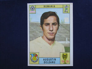 Panini World Cup 1970 Mexico 70, card Augustin Deleanu, unused,red-black, VGC