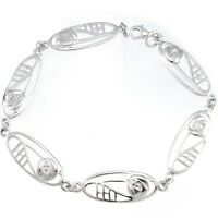 Sterling Silver Charles Rennie Mackintosh Bracelet & Gift Box