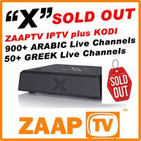 Zaaptv x Iptv Internet Receiver - Arabic / Turkish Tv - Hd 1080p No Buffering
