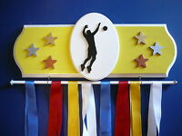 Volleyball Male Sports Medal Display Hanger