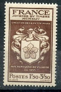 Architecture Stamp Timbre France Neuf N° 668 ** Journee Du Timbre Ecusson To Win A High Admiration