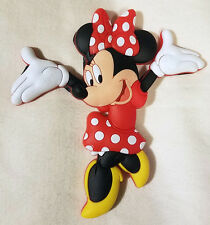 """Disney Parks Minnie Mouse Fridge Magnet PVC 3"""" - NEW"""