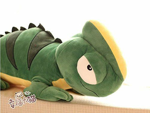 110CM Giant Large Big Chameleon Lizard Stuffed Animal Plush Toy Doll Pillow gift