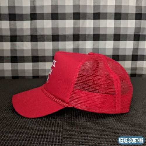 Embroidered Classic Mesh-Back Hat//Cap Lock Him Up
