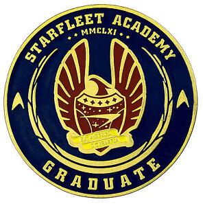 50 Jahre Star Trek Graduation Challenge Münze Starfleet Academy Ebay