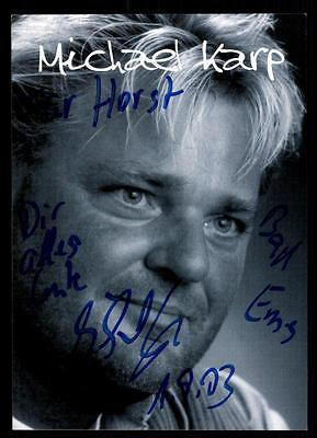 Original, Nicht Zertifiziert Michael Karp Autogrammkarte Original Signiert ## Bc 46883 Offensichtlicher Effekt