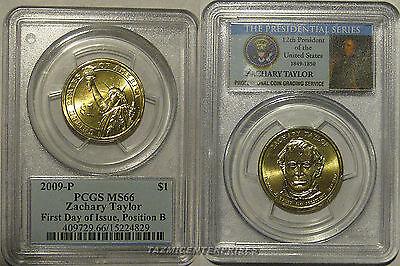 2009 P  $1 Zackary Taylor  Presidential Dollar
