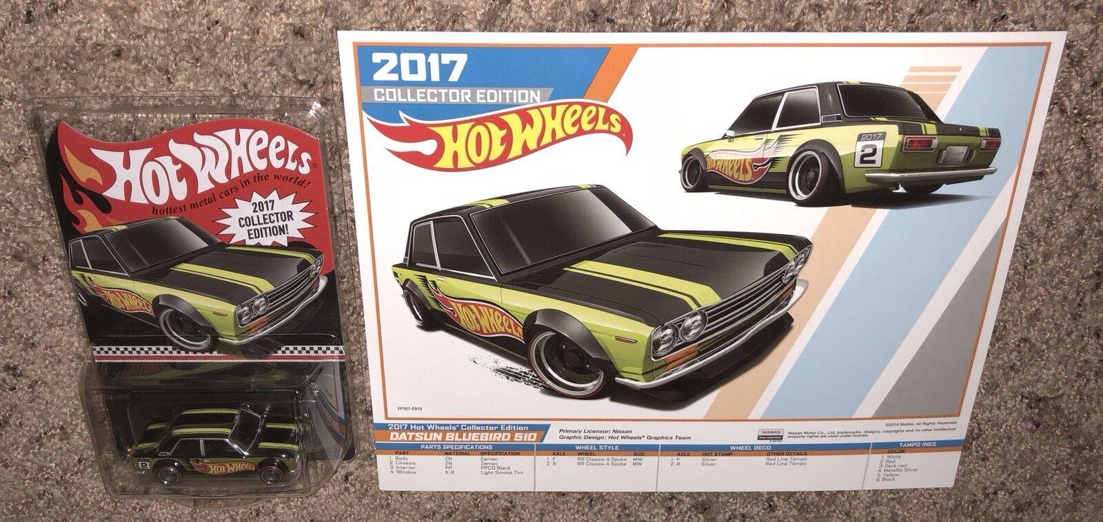 tienda de ventas outlet Hot Wheels 2016 Datsun azulbird 510 510 510 con K-day event Cochetel Kmart correo en     los nuevos estilos calientes