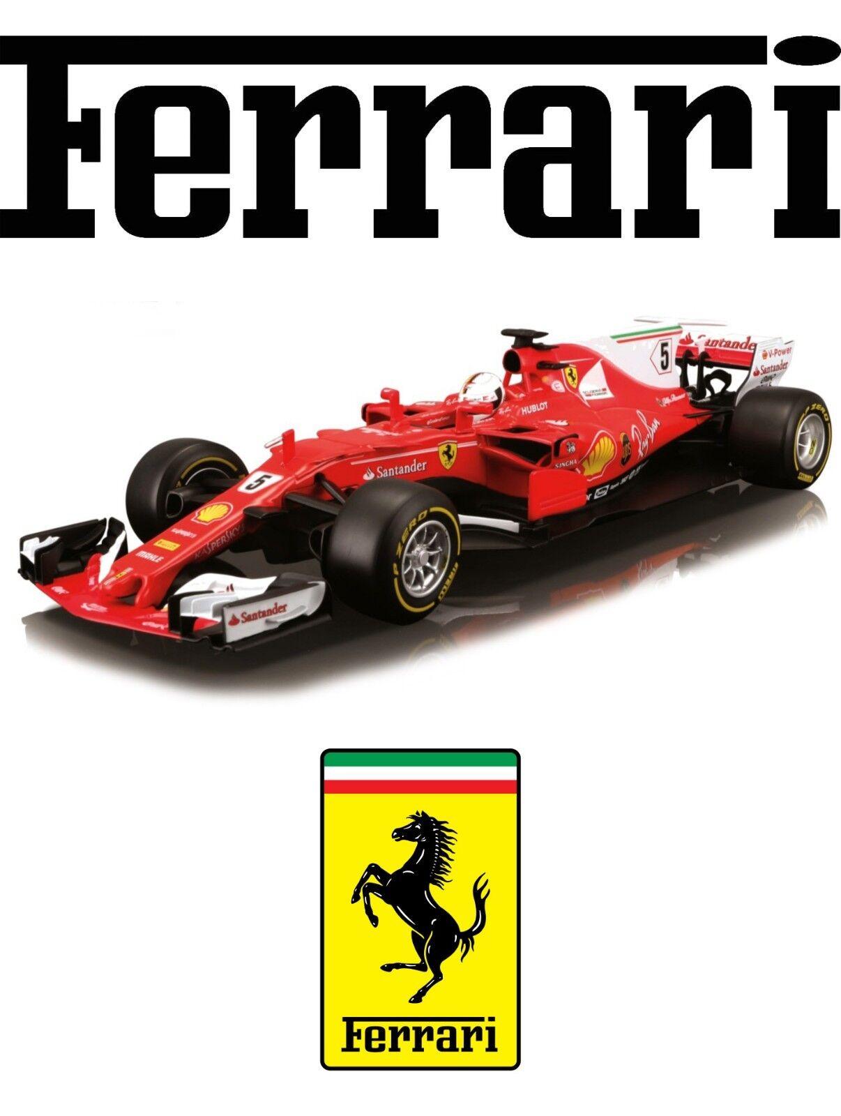 BBurago - 1 18 Ferrari F1 Sebastian Vettel 2017 Nr. 5
