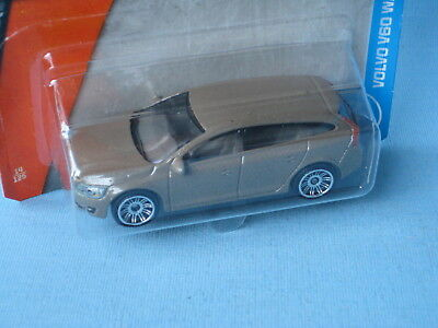 Matchbox Volvo V60 Wagon Estate Brown Toy Car in BP 73mm Long | eBay