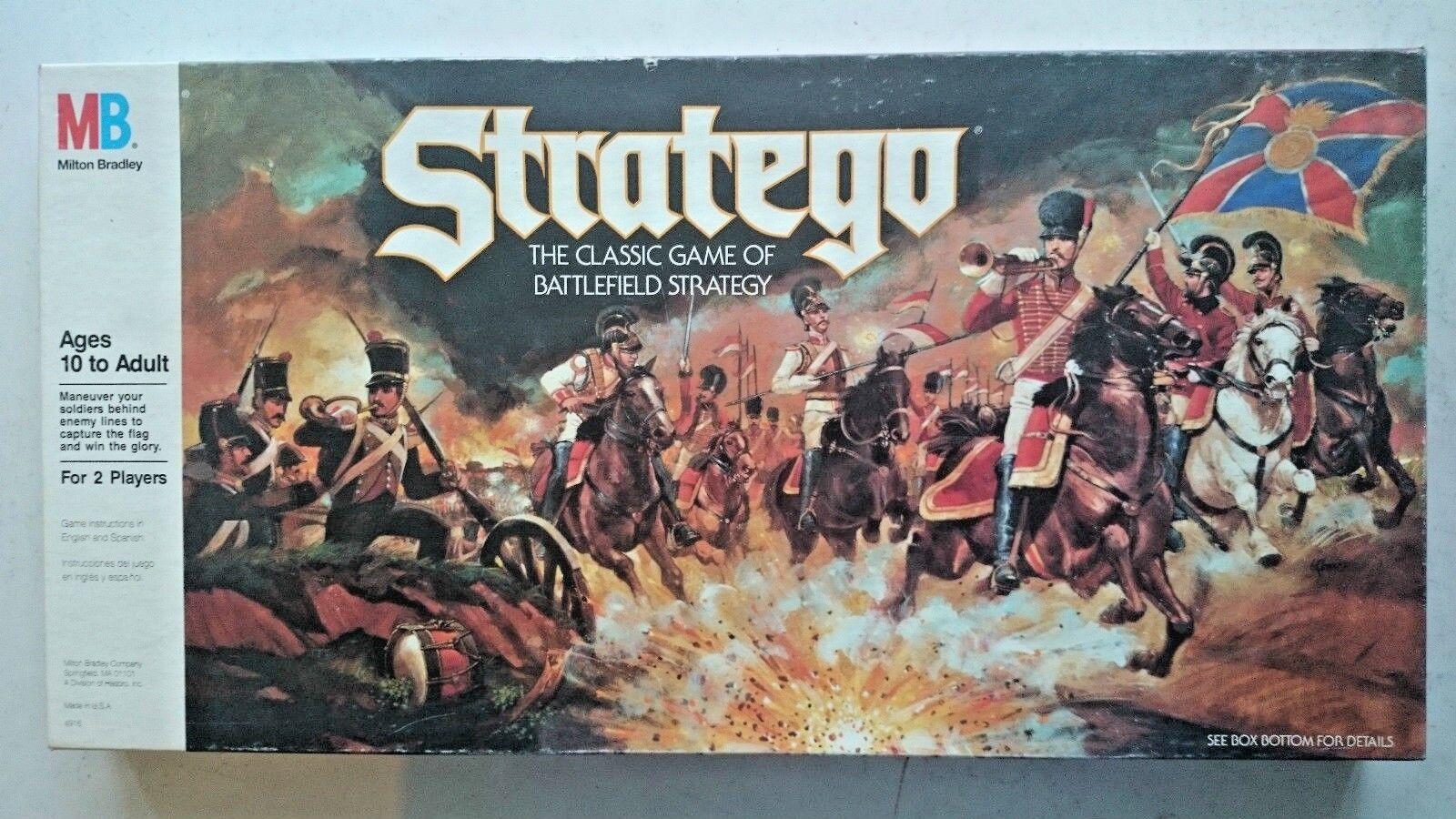 Vintage Stratego  board Game ( MB  )  1986